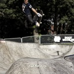 Photo by Valentin Baat   Huge trick by the winner of GBG Action Bowl battle 2012