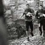 Photo by Valentin Baat. inside the castle. running.