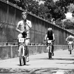 Photo by Valentin Baat. Riders close to the finish line.